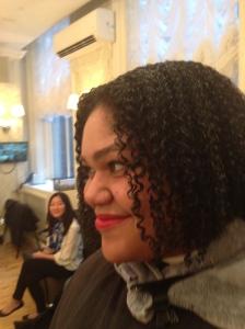 Coily Custard Curls Rock