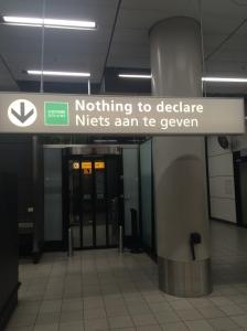 Schipol Airport The Netherlands :)